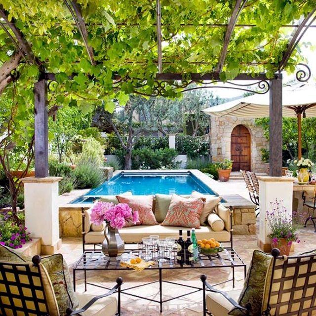 Jardines de ensueño | Backyard, Outdoor spaces and Patios