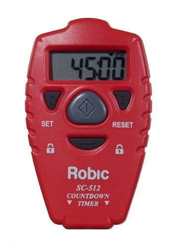 robic sc 512 handheld countdown timer fitness technology