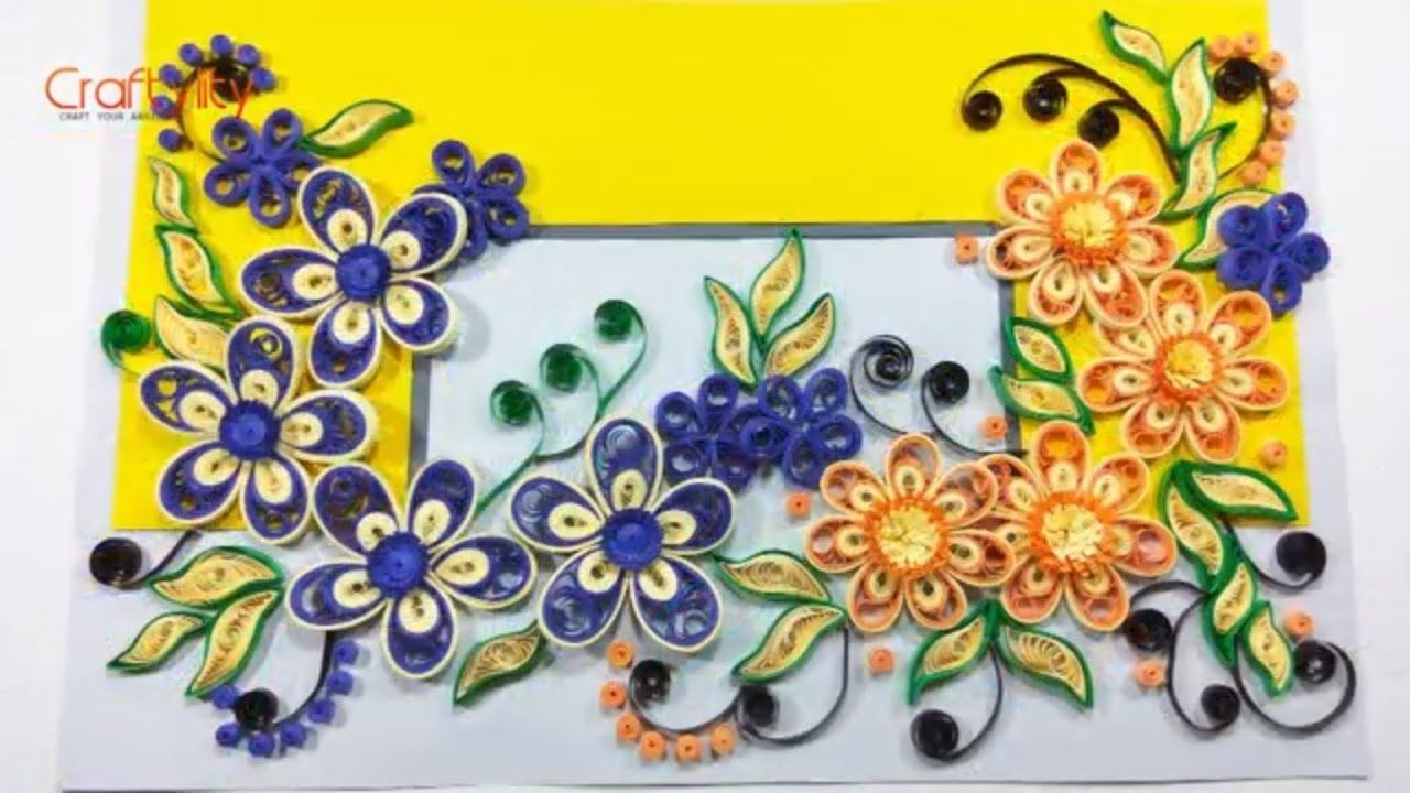 Diy 3d Malaysian Paper Quilling Flower Card How To Make Quilling