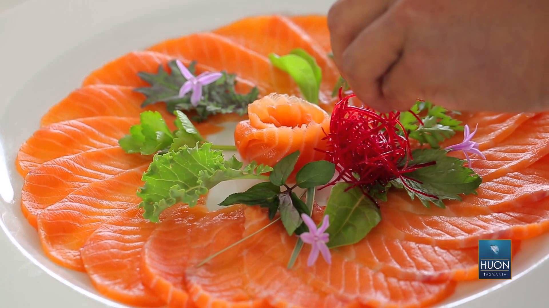 How To Make Huon Salmon Sashimi With Masaaki Salmon Sashimi Sashimi Sashimi Platter