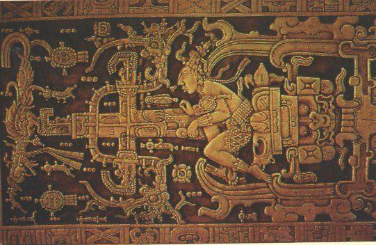 l'astronaute de Palenque