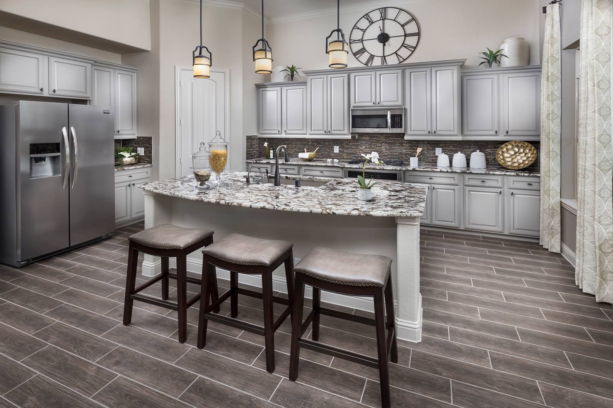 From the countertops to the OVEN what features are you ...
