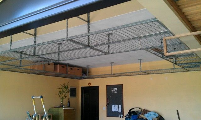 Garage Hanging Shelves Diy Garage Storage Cabinets Garage