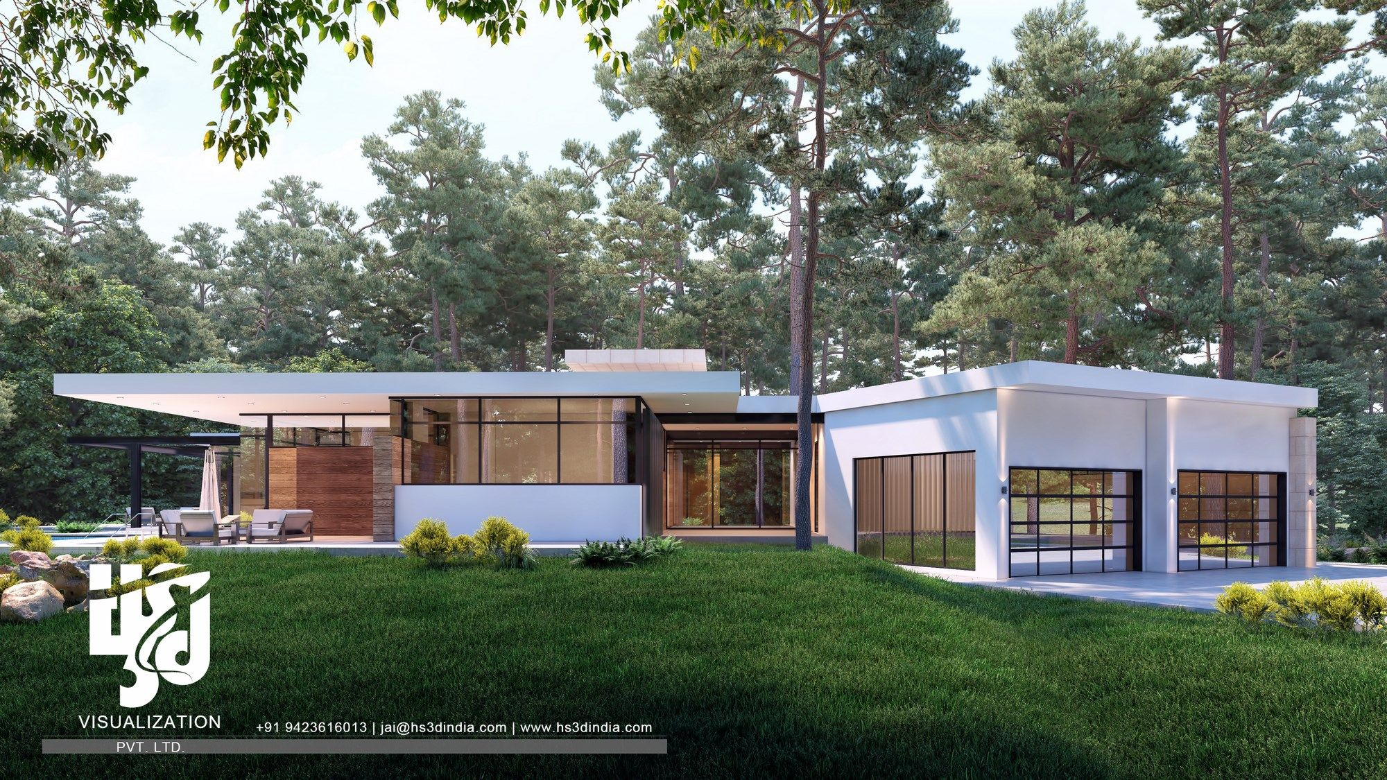 Single Story Modern House Design: USA - The Most Beautiful ...