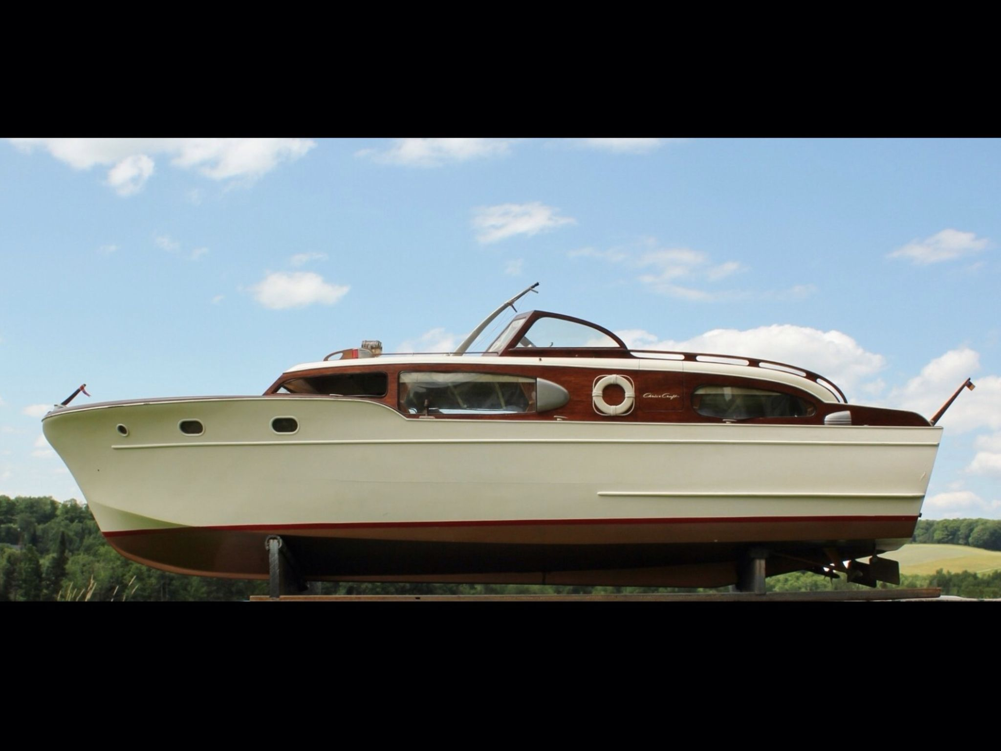 Sterling model RC wood boat Chris Craft Corvette   RC Models   Pinterest   Wood boats, Chris ...