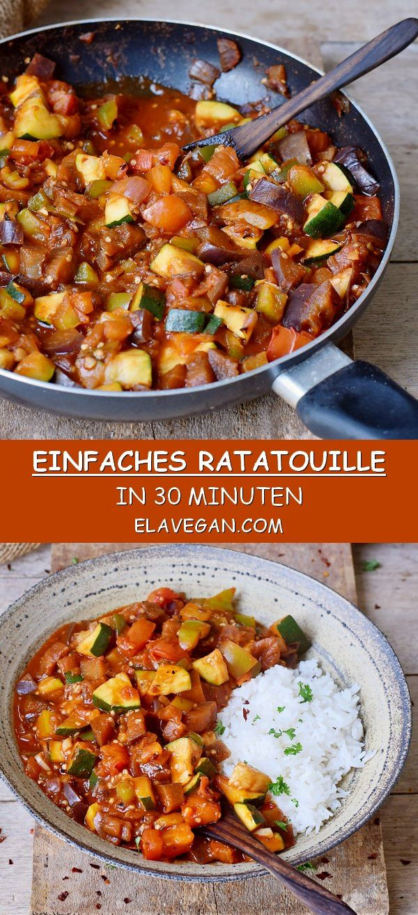 Photo of Einfaches Ratatouille Rezept | Fertig in 30 Minuten – Elaveg…