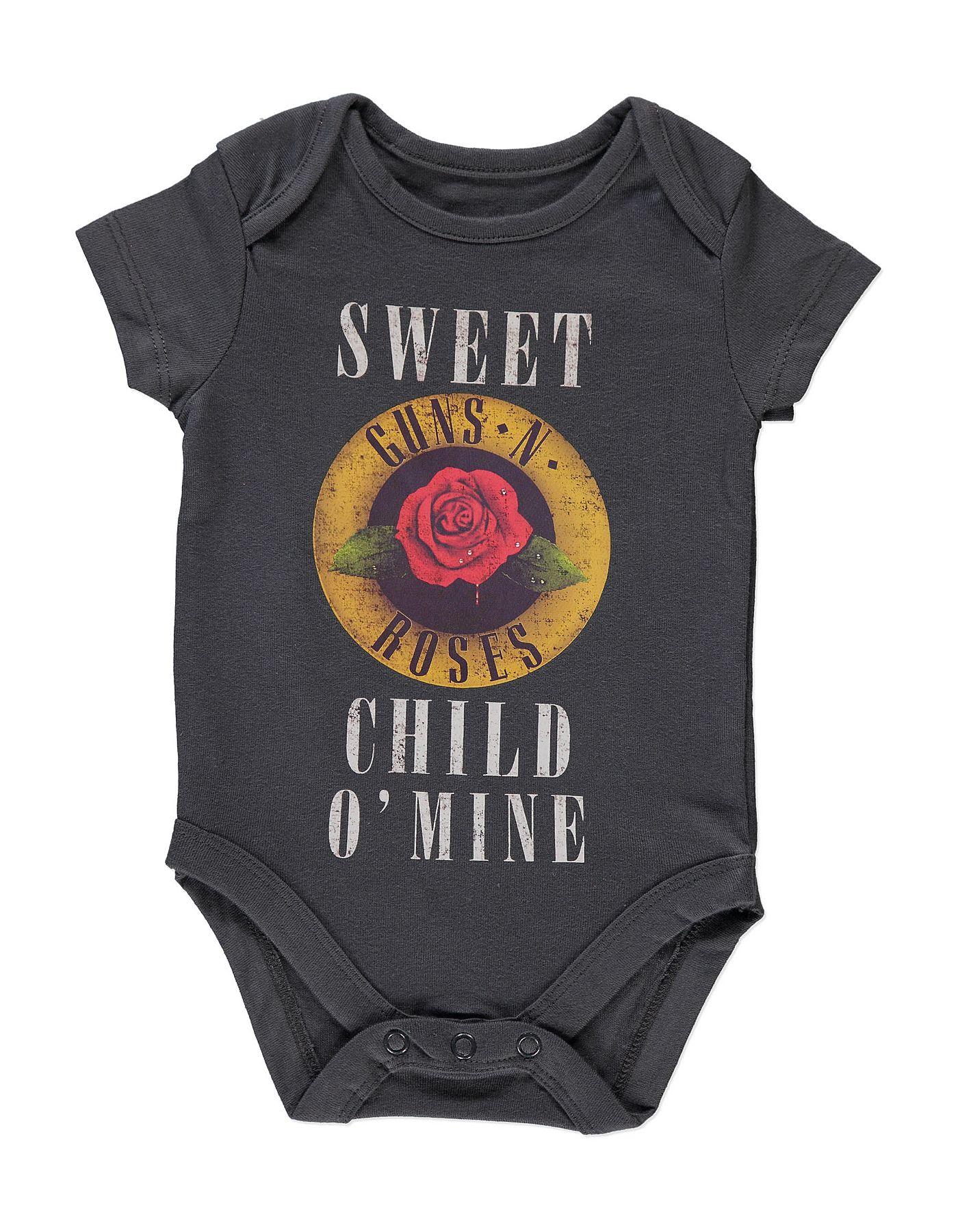 Guns N Roses Bodysuit Baby George At Asda Life Is Good