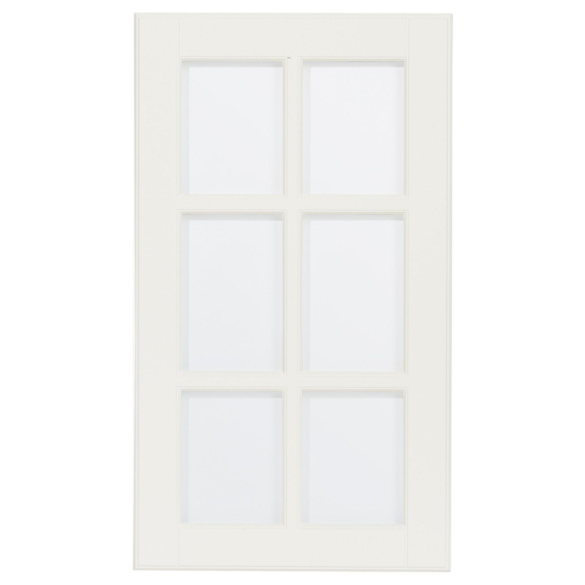 Glass For Kitchen Cabinet Doors Only: Only Upper Cabinet Doors $56.00 LIDINGÖ Glass Door