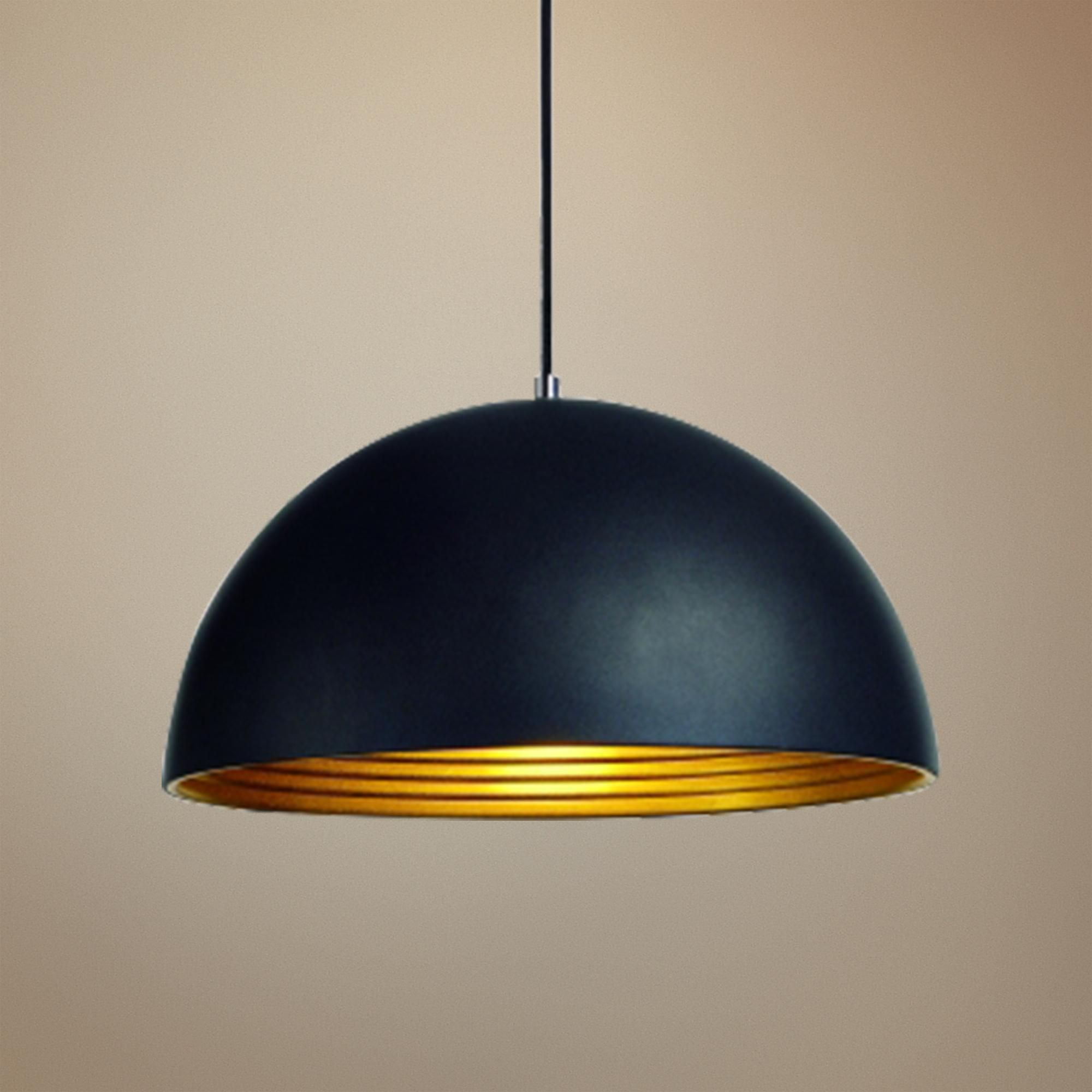 pendant white freu dome light