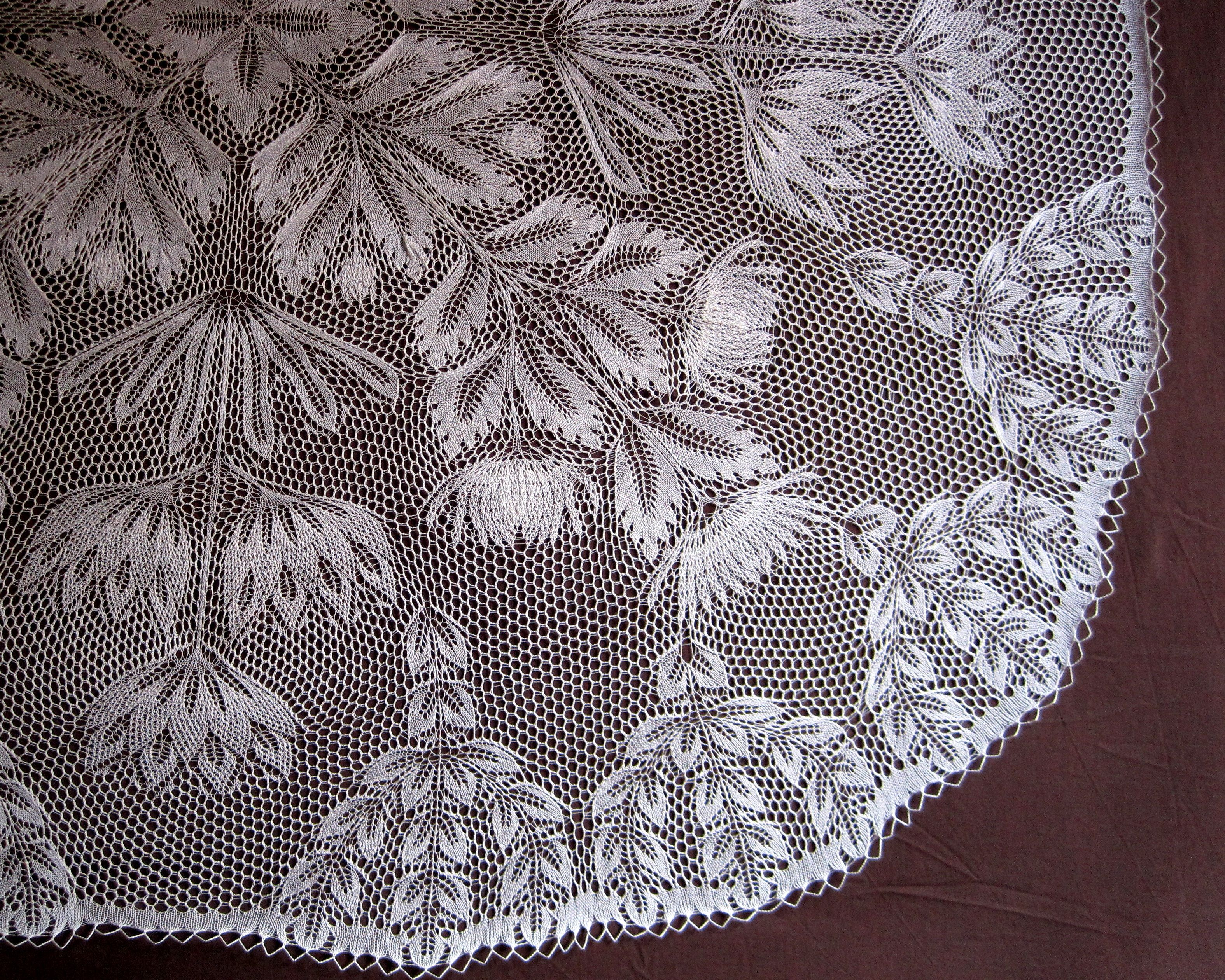 Roswitha, doily by Herbert Niebling. | Lace Knitting ...