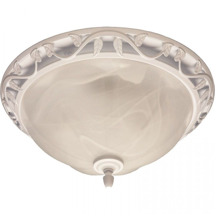 Broan Nutone Decorative Bathroom Fan and Light with Glass ...