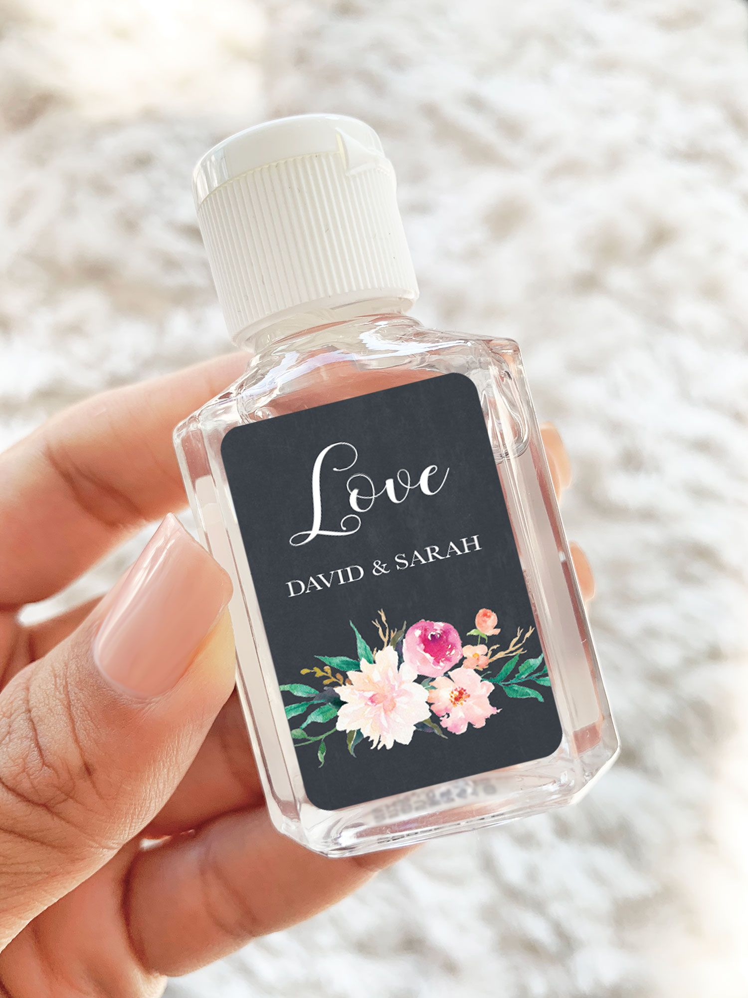 Floral Garden Hand Sanitizer In 2020 Summer Wedding Favors