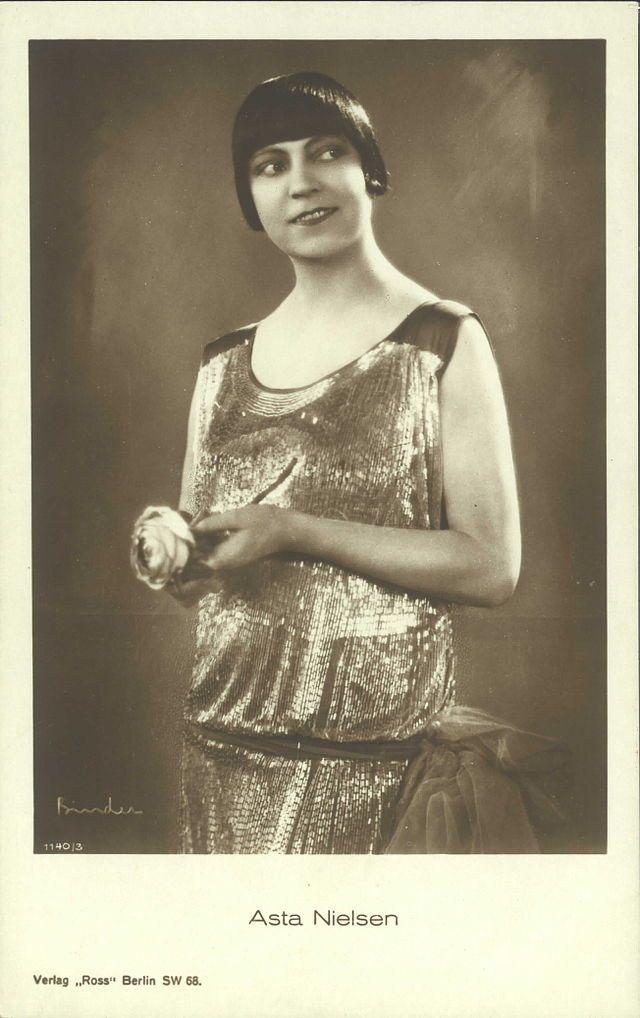 Asta Nielsen in 1920's