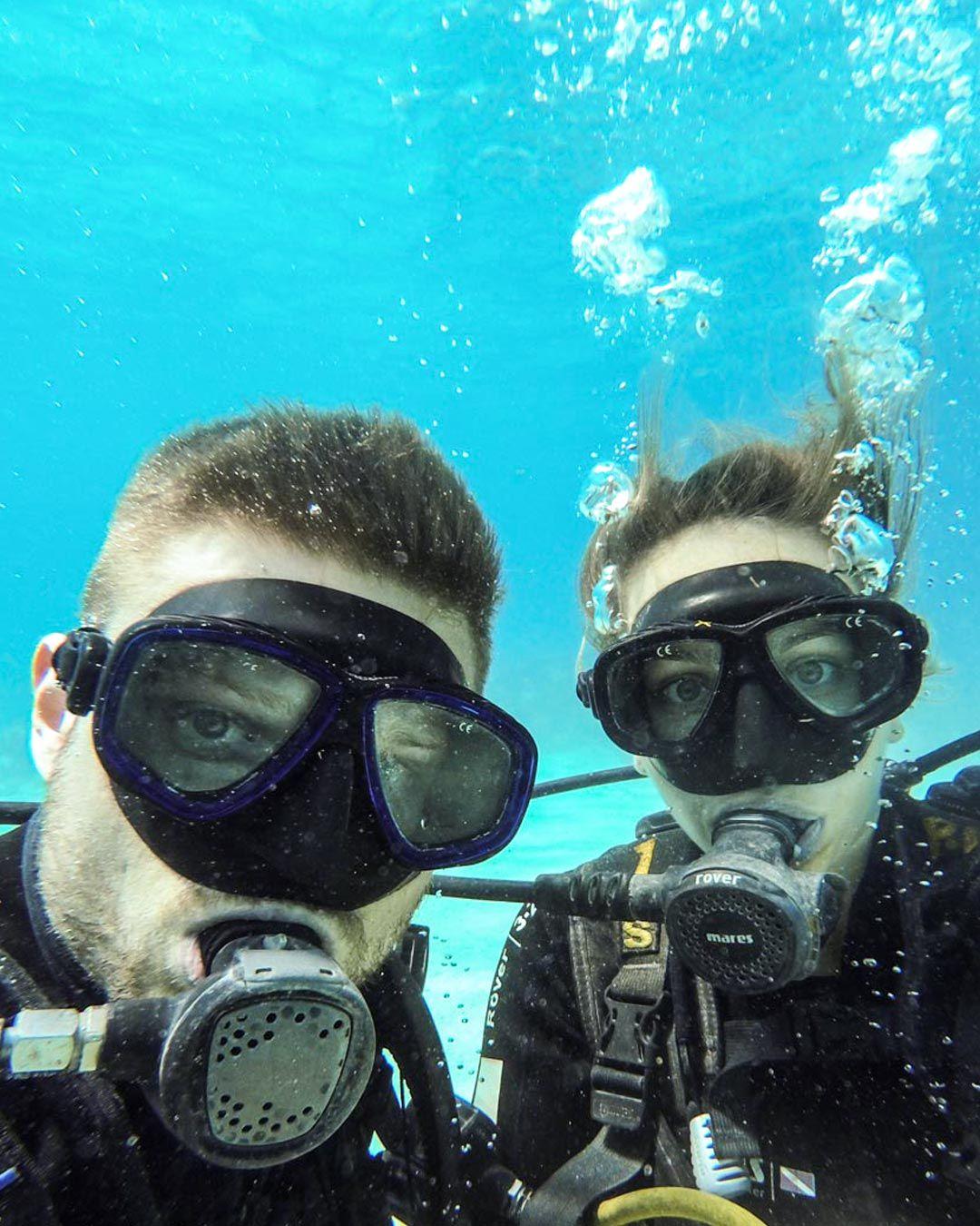 Kuba Tauchen Tauchgang Ausflug Karibik Meer Tauchen Ausflug
