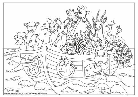 noahs ark colouring page 480 480 339 print for lilly 39 s book pinterest bible crafts. Black Bedroom Furniture Sets. Home Design Ideas