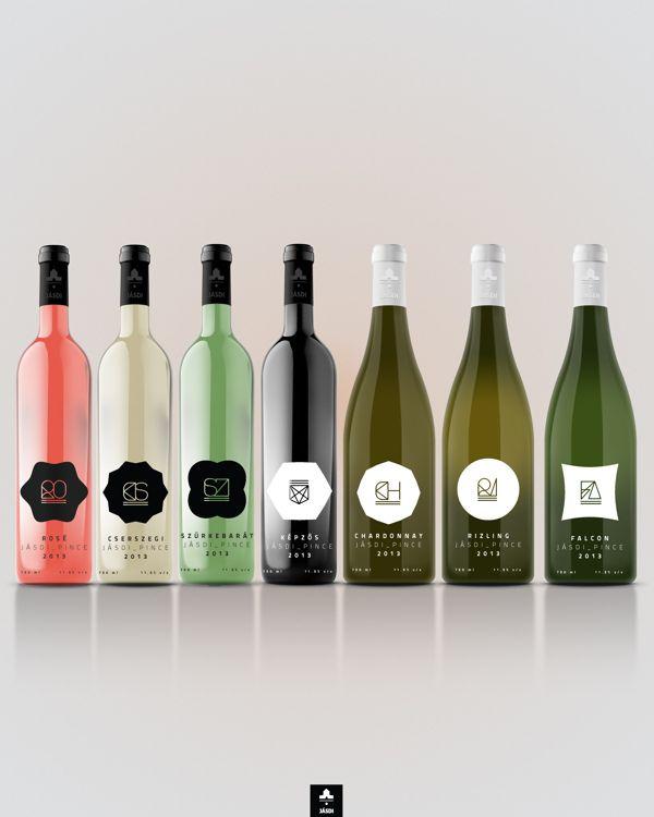 Packaging of the World: Archivo Creativo y Diseño Paquete Galería: Wine Label Concept Jásdi