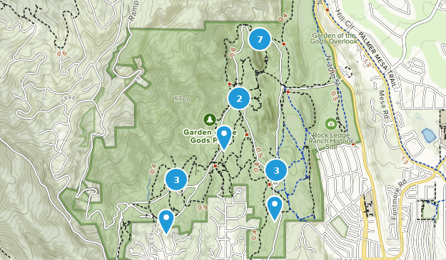 Explore the most popular Kid Friendly trails in Garden of