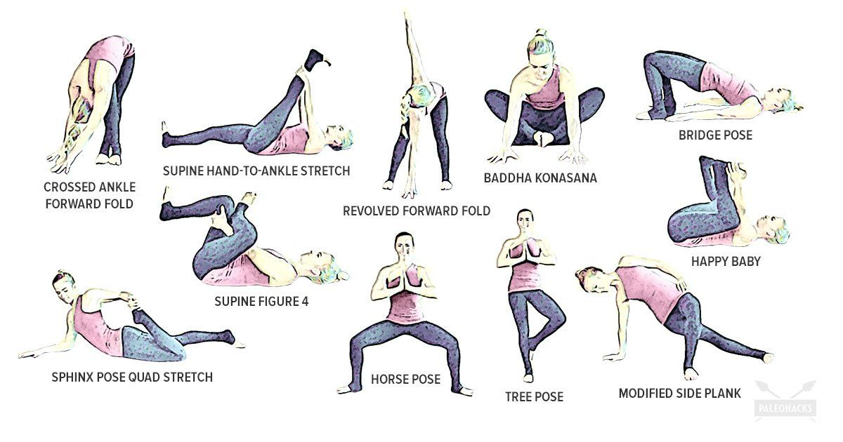 14++ Yoga poses on knees trends
