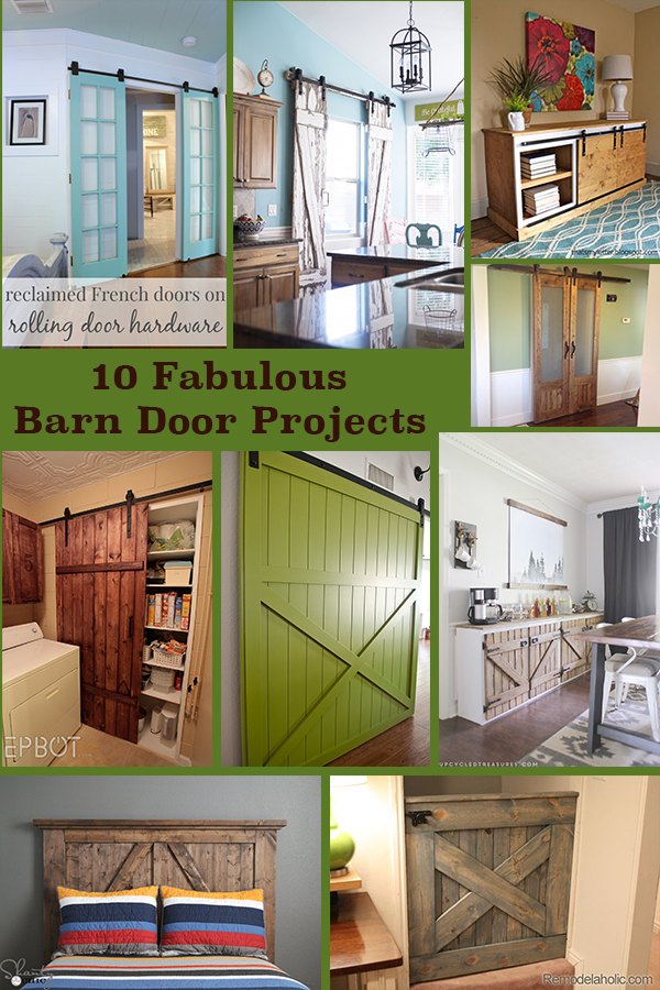 Barn Doors Are A Huge Trend Right Now These Are A Few Of Our