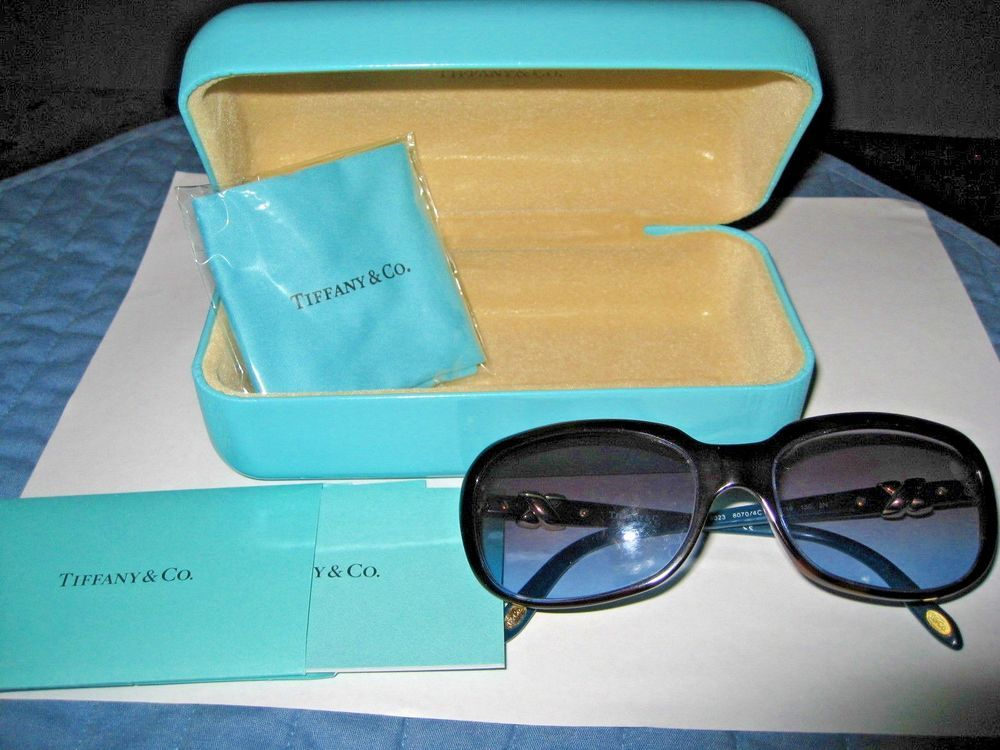 086cb909f4f AUTHENTIC TIFFANY   CO WOMEN S SUNGLASSES IN ORIGINAL CASE WITH CLOTH    BOOKS  fashion  clothing  shoes  accessories  womensaccessories ...
