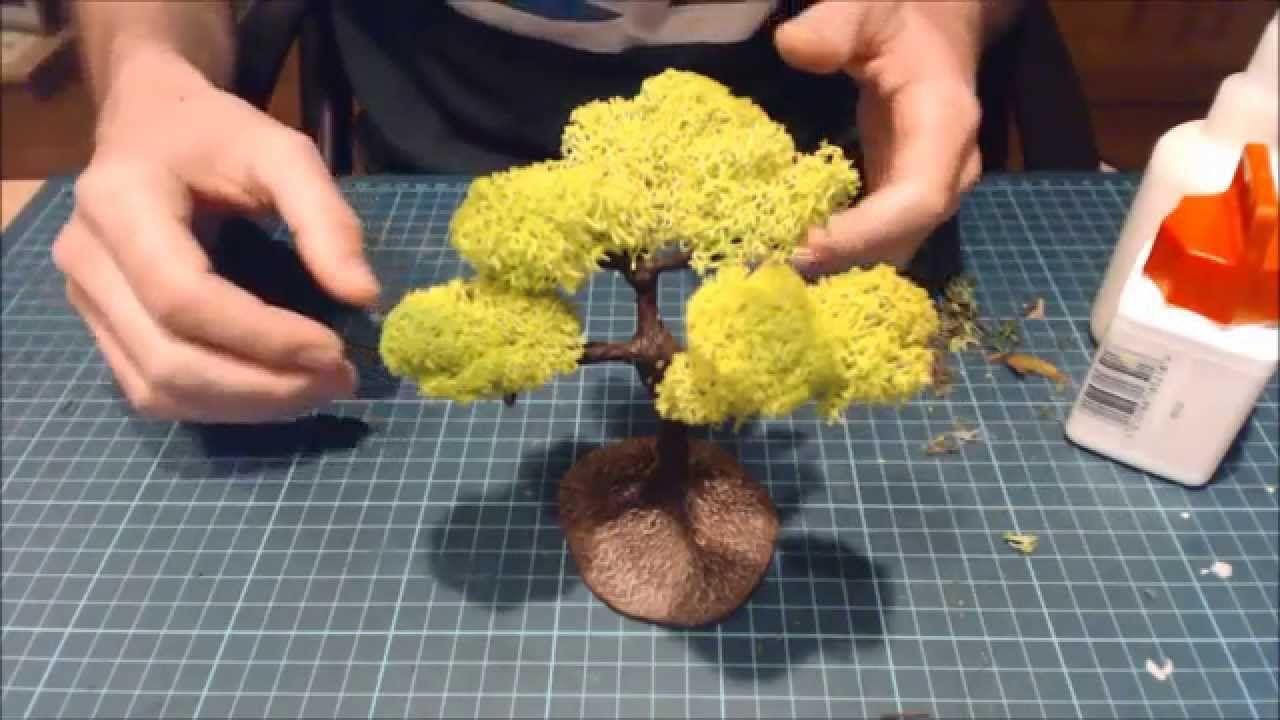 realistic scenic trees basic lichen foliage technique youtube [ 1280 x 720 Pixel ]
