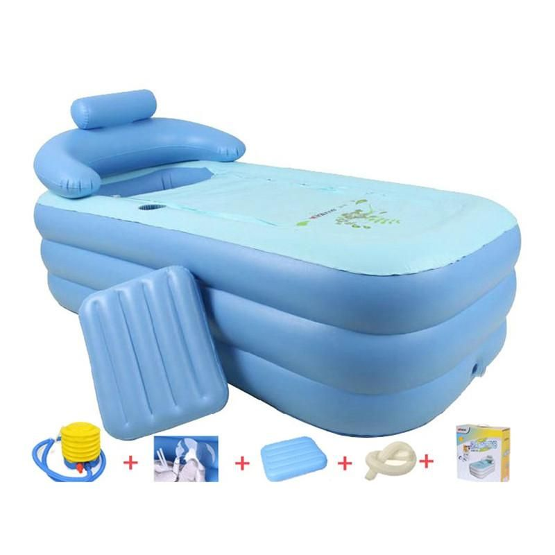Visit to Buy] Adult Spa PVC Folding portable bathtub for adults ...