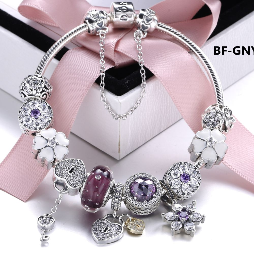Snb womenus fashion pandora bracelet beauty and craft