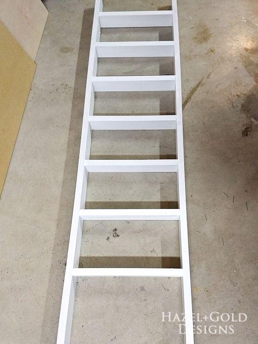 Diy Decorative Ladder Tutorial Diy Furniture Projects