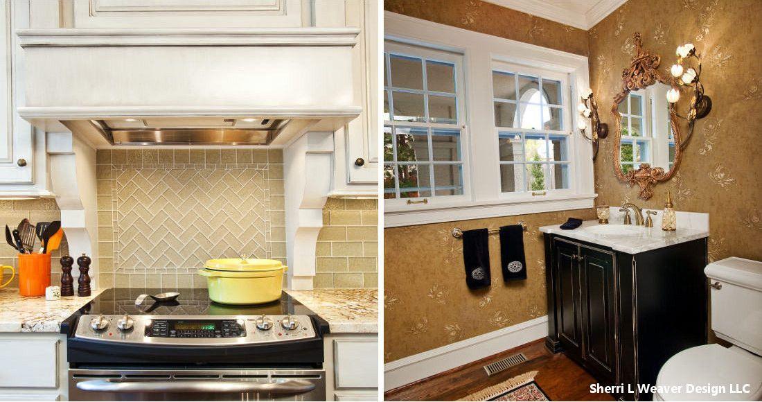 A Kansas City Kitchen and Bath Remodel by Sherri Weaver House Design