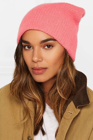 18282d51b6f62e The Elder Statesman - Watchman ribbed cashmere beanie | Products ...