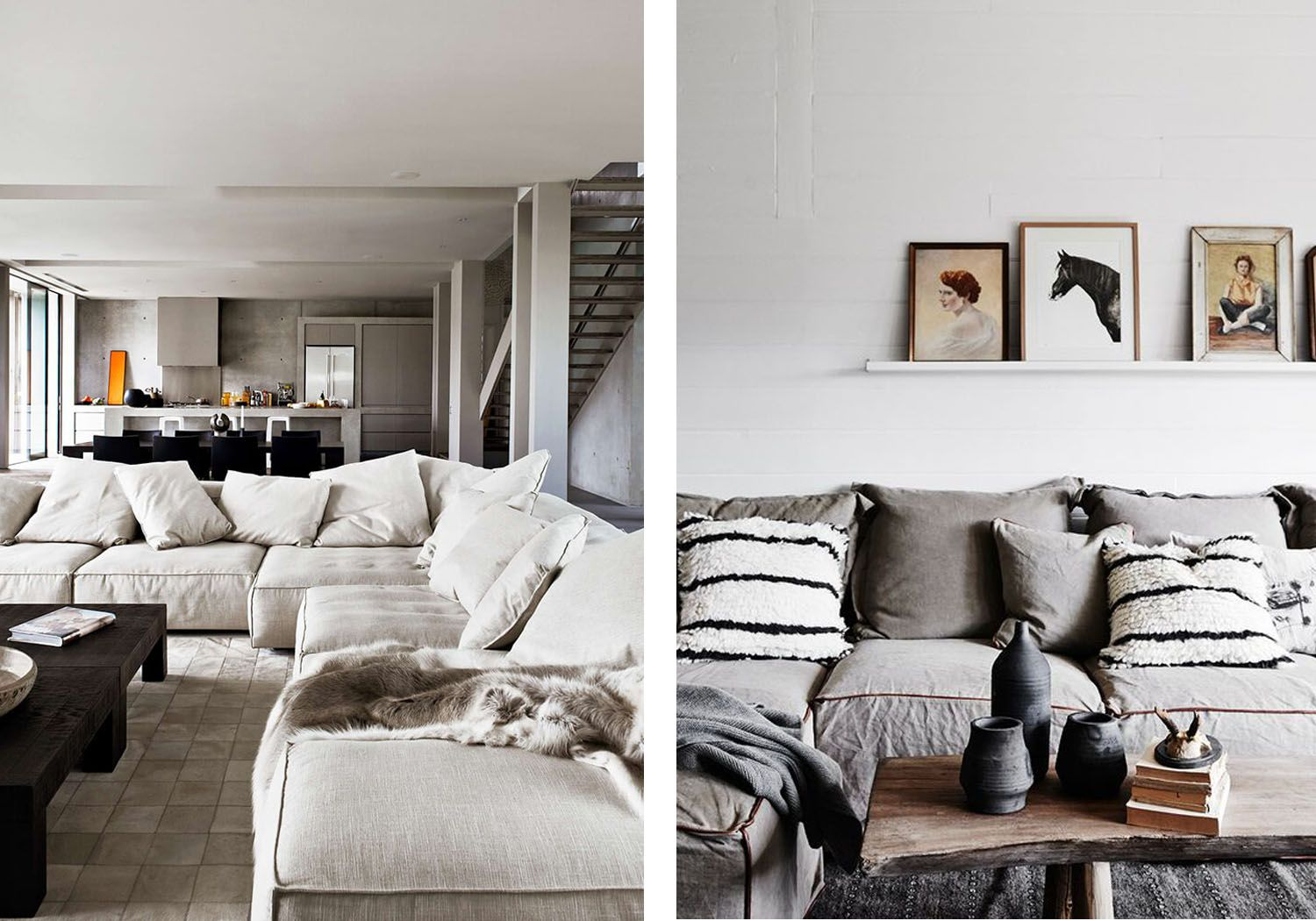 Trend Report: The Return of the Big Comfy Couch   Big comfy couches ...