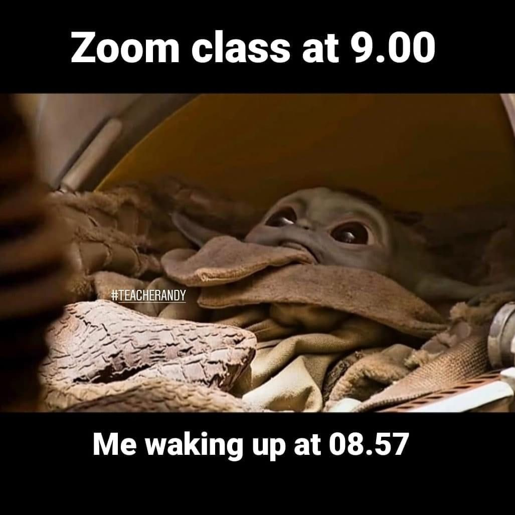 Pin By Nawel Ayad On Baby Yoda In 2020 Yoda Meme Relatable Post Funny Stupid Funny Memes
