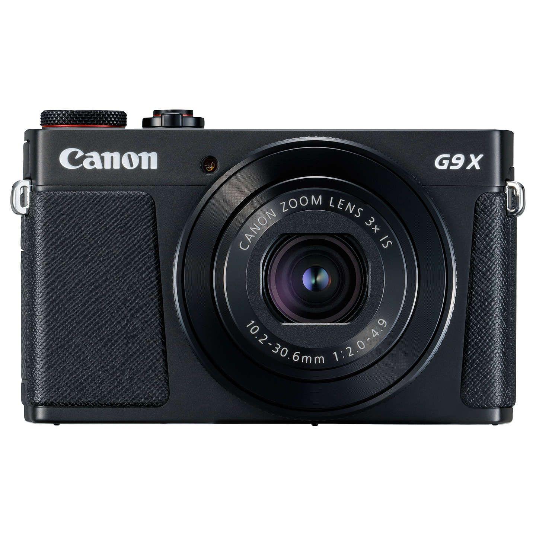 Canon PowerShot G9 X Mark II Digital Camera, 1080p, 20MP