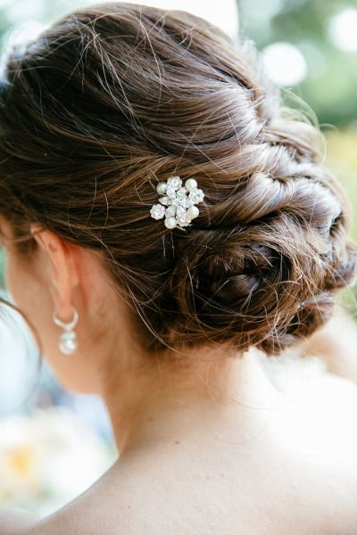 Braided updo: http://www.stylemepretty.com/little-black-book-blog/2014/11/28/elegant-tappan-hill-mansion-wedding-2/ | Photography: Tory Williams - http://torywilliams.com/