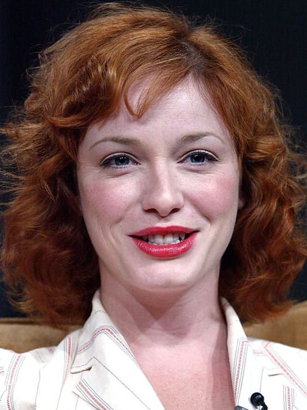 Photo of Christina Hendricks, Before and After