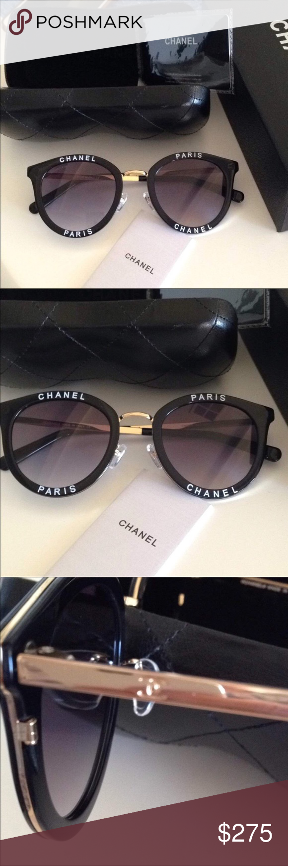 5732a8c0be48 NWT Chanel sunglasses Brand new sunglasses with a box and case CHANEL  Accessories Sunglasses