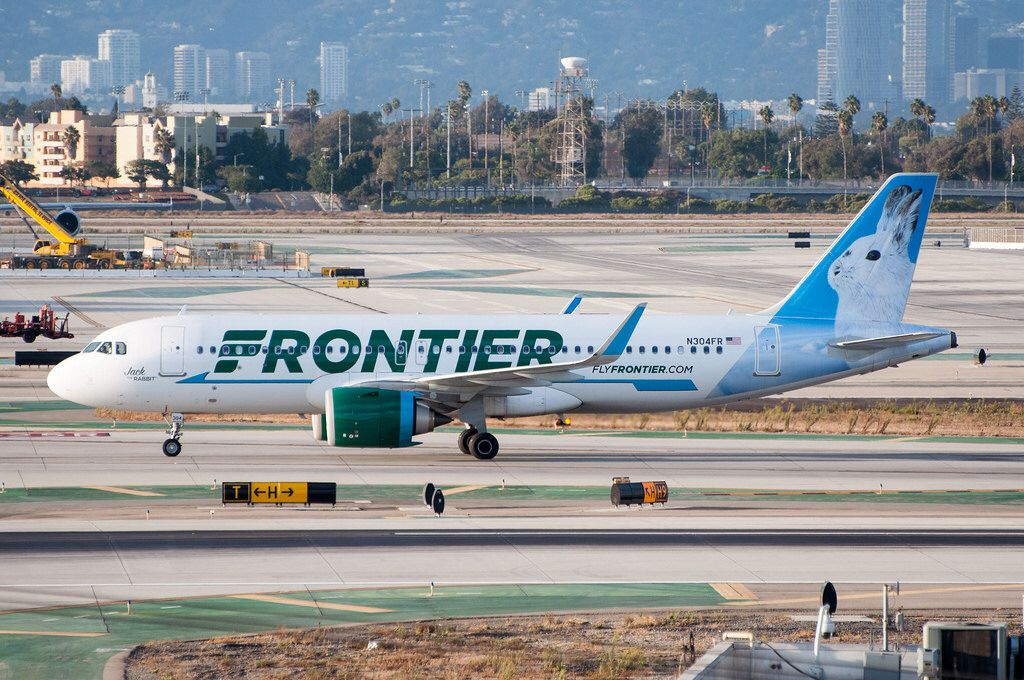 Frontier airlines jack the rabbit in the form of an a320 251neo at frontier airlines jack the rabbit in the form of an a320 251neo at altavistaventures Choice Image