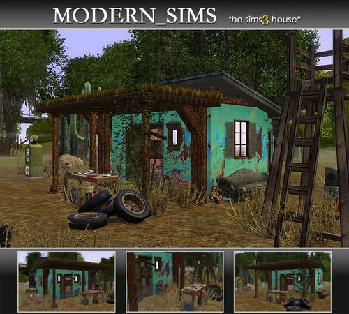 Modern_Sims' Abandoned House Ⅲ