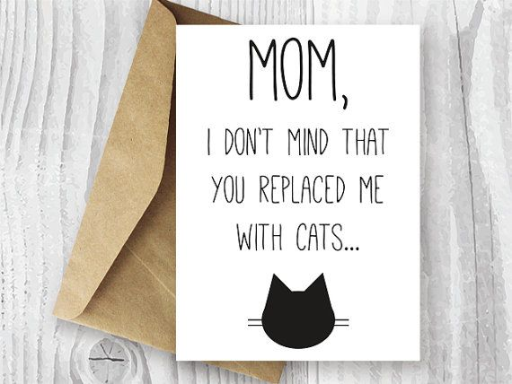 Mothers Day Card Printable Mother S By Miumicatprintables