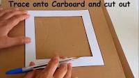 Cara Membuat Bingkai Foto Dari Bahan Kardus Bekas Dan Kertas Dunia Kreatif Bingkai Foto Bingkai Kreatif