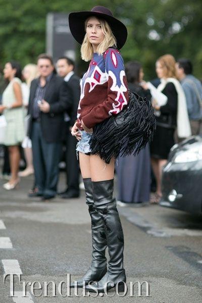 PFW Couture Sokak Modası