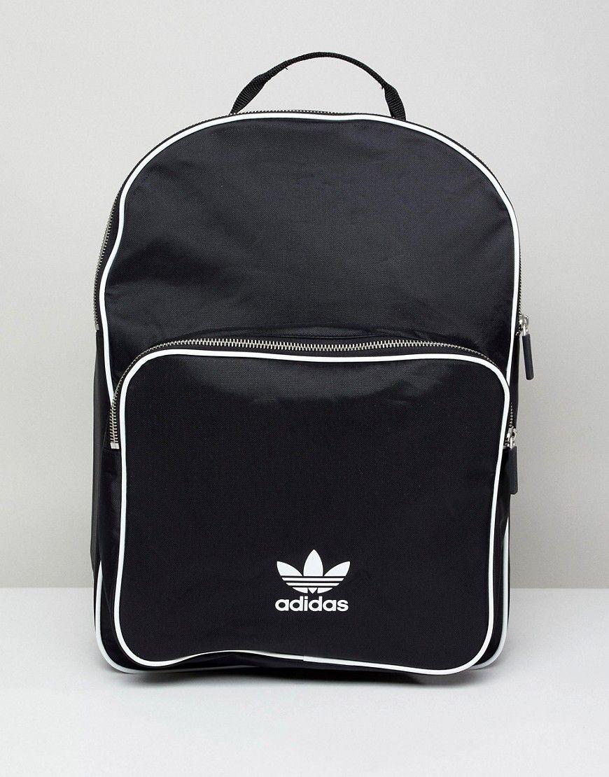 ebe5a58e917a ADIDAS ORIGINALS ADICOLOR BACKPACK IN BLACK CW0637 - BLACK.   adidasoriginals  bags  lining  backpacks
