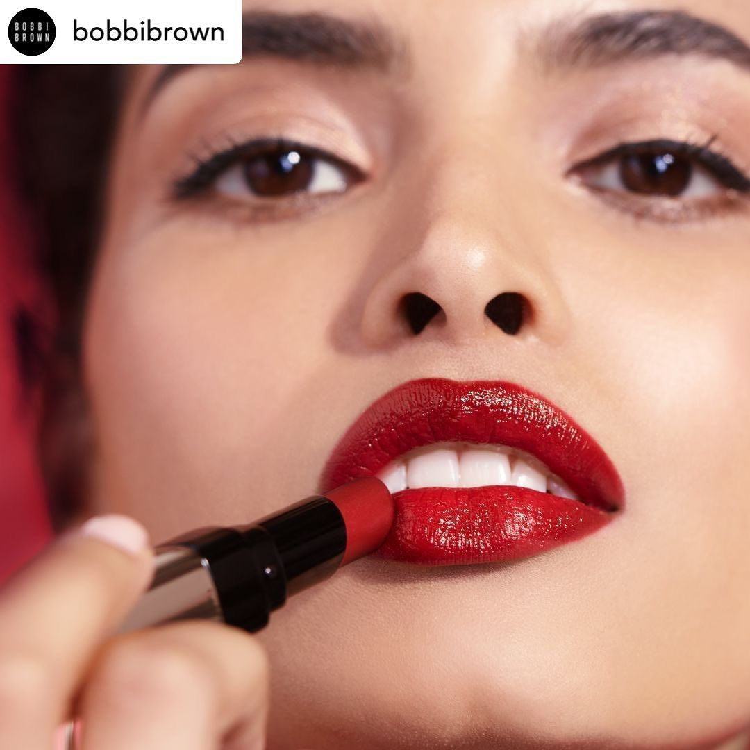 Posted @withrepost • @bobbibrown Bold color and shine—straight from the tube—with Luxe Shine