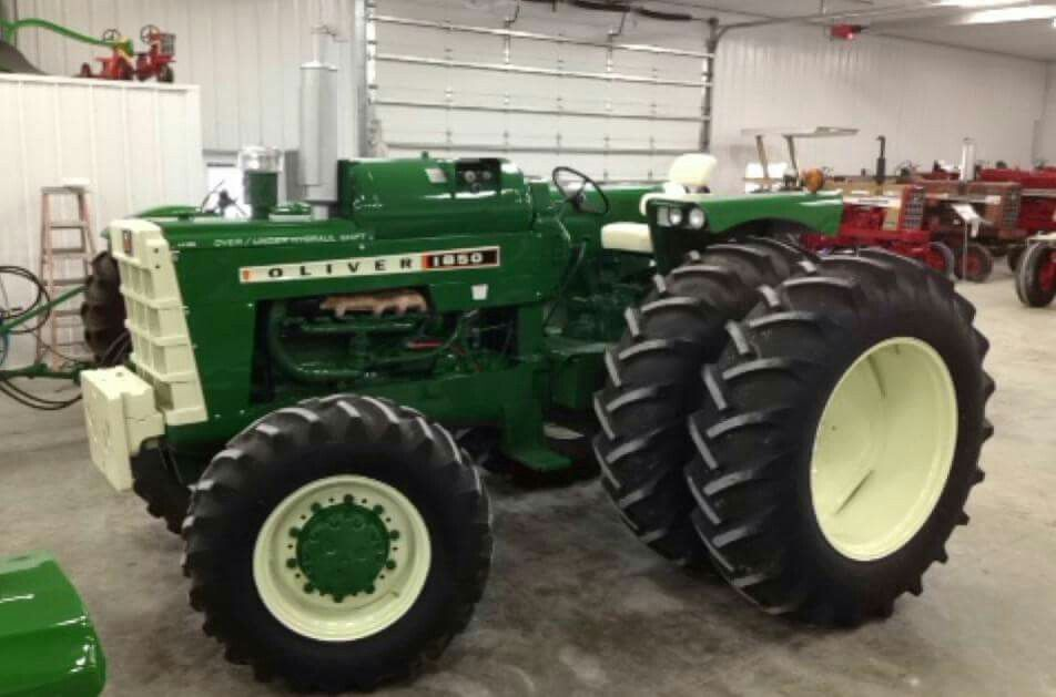 1850 Oliver and the really good tractors are in the