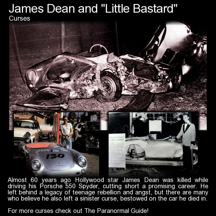 Photos Of James Dean And The Little Bastard: Pin By The Paranormal Guide On The Paranormal Guide