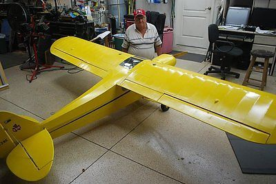 balsa usa | 33 % Scale Piper Cub, 12 ft Giant Scale RC AIrplane