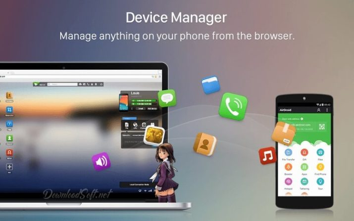 Download AirDroid 🥇 Manage Your Android Device From PC
