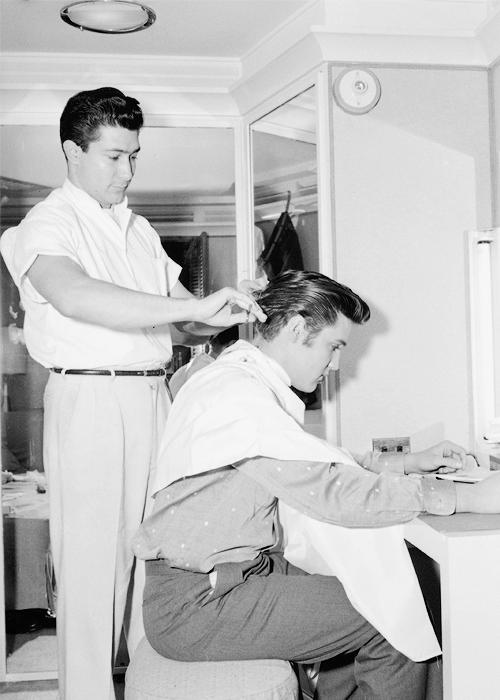 Getting A Haircut 94