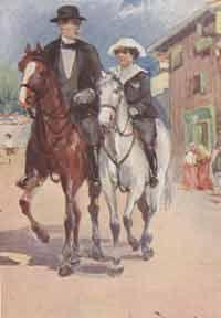 Mannucci Cipriano (1882-1970) Illustra, in b/n e a colori, l'edizione di Incompreso per la Collezione Salani di inizio secolo. Rieditando il titolo per la collana I Libri della Festa,  Salani ne utilizzò una delle tavole interne per la copertina.