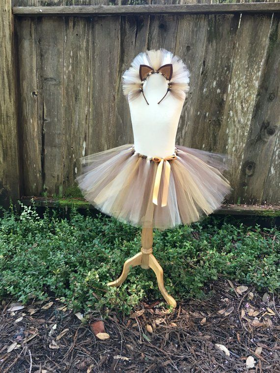 Photo of Lion tutu and headband – lion tutu – halloween costume – lion costume – girl halloween costume – girl lion costume